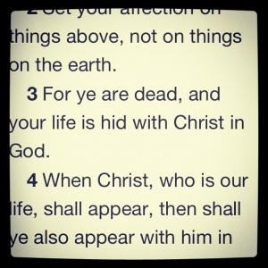 from colossians